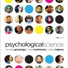 Psychological Science 3rd edition by Gazzaniga 0393931196
