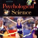 The Psychological Science The Mind, Brain, and Behavior by Gazzaniga 0393975878