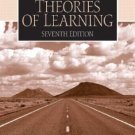 Introduction to the Theories of Learning 7th edition by Hergenhahn 0131147226