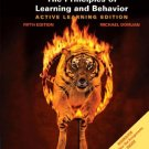 The Principles of Learning and Behavior 5th by Domjan 0534605907