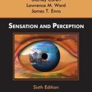 Sensation and Perception 6th ed by Coren 0471272558