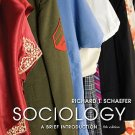 Sociology A Brief Introduction - 8th Edition Schaefer 0073404268