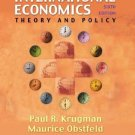 International Economics Theory and Policy 6th by Krugman 0201770377