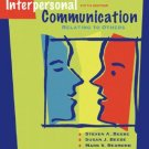 Interpersonal Communication Relating to Others - 5th Ed by Beebe 020548879X