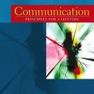Communications Priciples for a Lifetime 3rd ed. by Beebe 0205508936