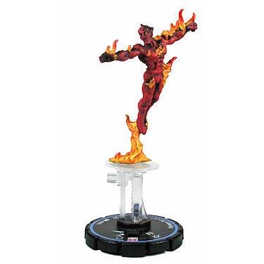 Marvel Heroclix Clobberin Time Human Torch Veteran #51