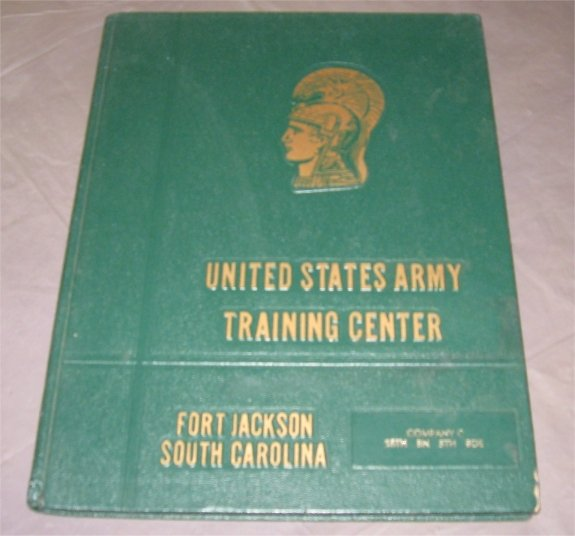 1977 Fort Jackson, SC Yearbook US Army Co C, 18 Bn, 5 Bd