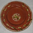 Vintage L.A. Breakfast Club 1937 Ceramic Pottery Plate Aztec Art Studios