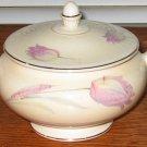 Homer Laughlin 1943 Tulip Eggshell Nautilus Sugar Bowl with Lid