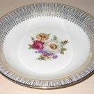 Bavaria Porcelain China Bowl Floral Bouquet Gold Guilding