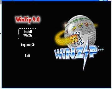 WinZip Version 9 CD Full Copy Not Trial Version delivered $8.00