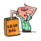 Grab bags, no pig in a poke!! Crammed full of quality items!! Just $13.33 each delivered.