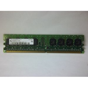 10 EACH of Micron Tech ECC SDRAM. 256MB Synch, 133MHz, CL3, PC133.  Just pulled. Delivered $68