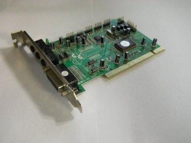 New SOUND CARD 4281 PCI PT-2620-40 V3.0 (B.12B) delivered $17.00