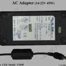 Used, Perfect ILAN F1650-COMPAQ/HP LAPTOP AC ADAPTER with Power Cord $17.00 delivered