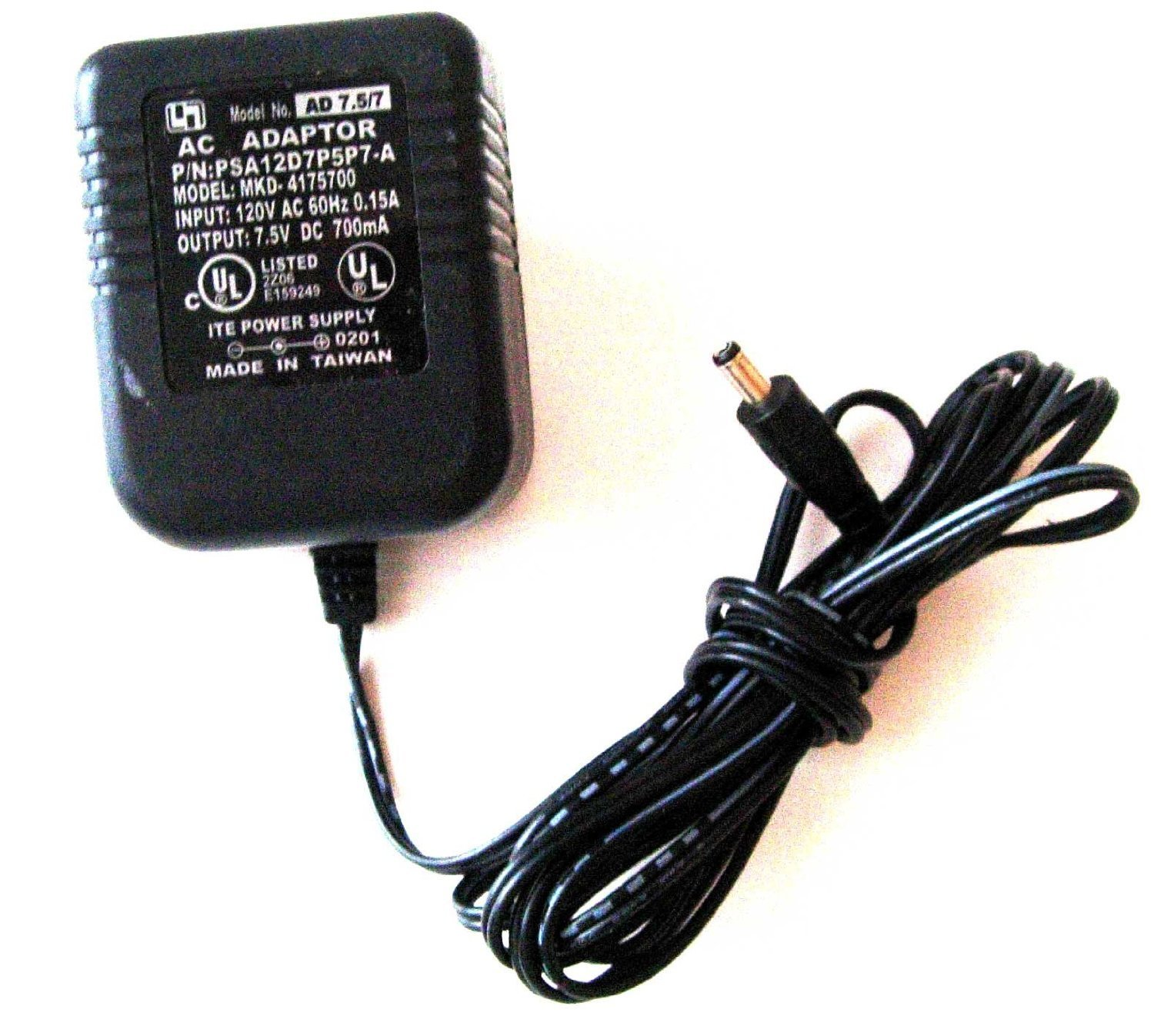 perfect used ITE POWER SUPPLY AC ADAPTER PSA12D7P5P7-A MKD-4175700delivered $11