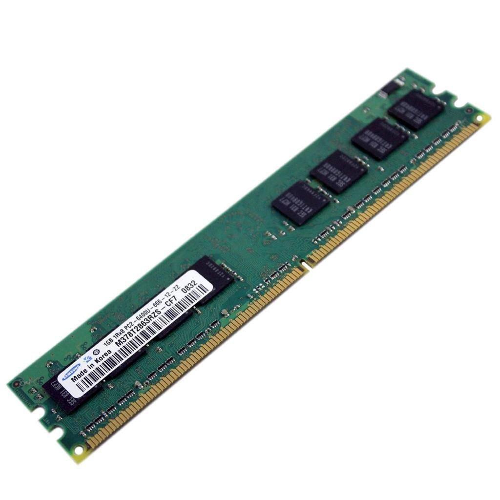 Samsung M378T2863RZS-CF7 1GB 240p PC2-6400 CL6 8c 128x8 DDR2-800 DIMM RoHS Delivered $42.00 each