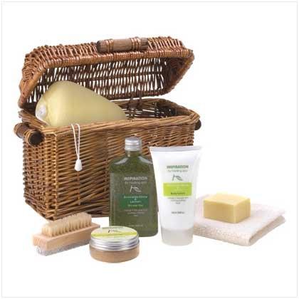Healing Spa Bath Basket