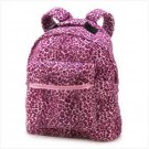 Pink Leopard Backpack