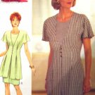 B3896 New Sewing Pattern Miss Draped Tucked Flutter Sleeve Suit Jacket Sheath Dress Size 6 8 10