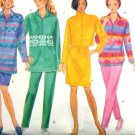 B4156 New Sewing Pattern Misses' Active Fleece or Knit Dress Top Skirt Pant Size XS S M