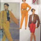 B5576 New Sewing Pattern Misses' Sporty Casual Top Pant Skirt Baseball Jacket Size 6 8 10