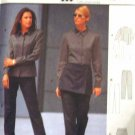 Burda 2552 New Sewing Pattern Misses' Fitted Top Pant Overwrap Size 8 10 12 14 16 18 20