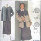 Burda 2623 New Sewing Pattern Child Girl Kid Yoked Cardigan Jacket Size 9 10 11 12 13 14 15