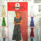 M3129 New Sewing Pattern Misses' Princess Seamed Dress Flared Variations Size 8 10 12