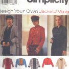 S9219 New Sewing Pattern Misses' Design A Jacket Cardigan Creative Craft Styles Size 6 8 10