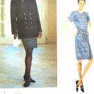 V1547 New Sewing Pattern Misses Vogue Double Breasted Jacket Wrap Dress Size 8 10 12