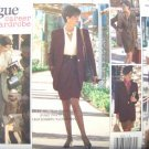 V2718 New Sewing Pattern Misses Career Wardrobe SarongWrap Skirt Jacket Pants Wrap Top 6 8 10