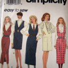 S8546 Sewing Pattern Jumper Length Neck Option Size 6 8 10