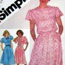 S5546 New Sewing Pattern Ruffle Sleeve Dress 10