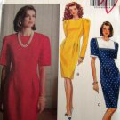 B5312 Sewing Pattern Dress Career Shaped Top 6 8 10
