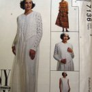 M7136 Sewing Pattern Jumper Dress Jacket Leggings Hat 4