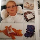 M8505 Sewing Pattern Gifts Pillow Neckroll Cushion Bag