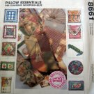 M8661 Sewing Pattern Home Dec 11 Variations Pillow Cushion Neck Roll