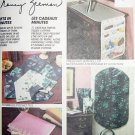 M6278 Sewing Pattern Room Accesories Travel Gifts Fast Easy Bags and more