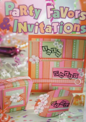 New -- Party Favors & Invitations Paper Crafts Instruction Book Scrapbooking & Gift Giving Ideas