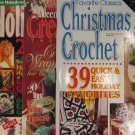 Christmas Holiday Thread & Yarn Crochet Pattern Magazine Assortment