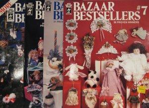 Bazaar Bestsellers Leaflet Brochure Pattern Assortment