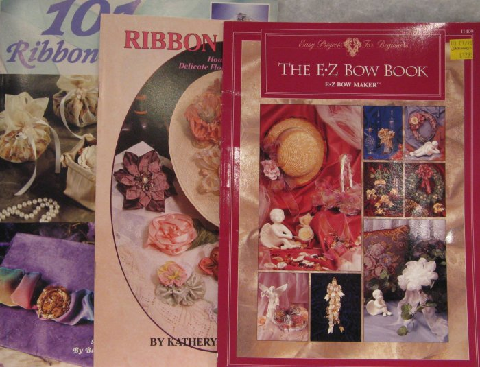 Ribbon Craft Leaflet Brochure Pattern Assortment