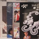 Clothing & Jewelry Thread & Yarn Crochet Pattern Brochure Leaflet Assortment