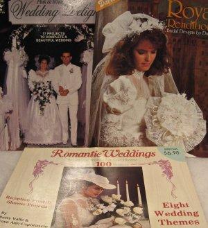 Wedding Bridal Floral Veil Bow Ribbon Craft Leaflet Brochure Pattern Assortment