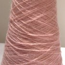 Pink Sparkle Acrylic Knitting Machine or Hand Crochet Cone Yarn Thread Fingering or Lace Weight