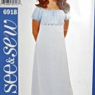 B6918 Sewing Pattern Child Girl Dress sz 7 8 10 Special Occasion or Costume Base