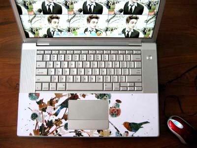 Laptop Skin Wrist Area Skin