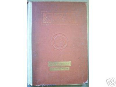 NEW INTERNATIONAL ATLAS OF THE WORLD, 1946, 10-1/2 x 15
