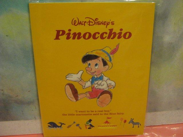 Disney's Pinocchio Letter Set in Paper Folder